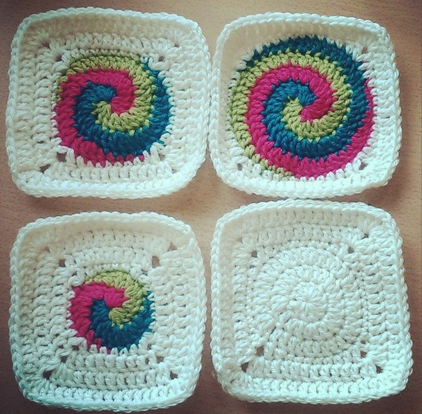 Awesome Free Pattern for Spiral Squares Spiral Crochet Pattern Free Of Fresh 44 Models Spiral Crochet Pattern Free