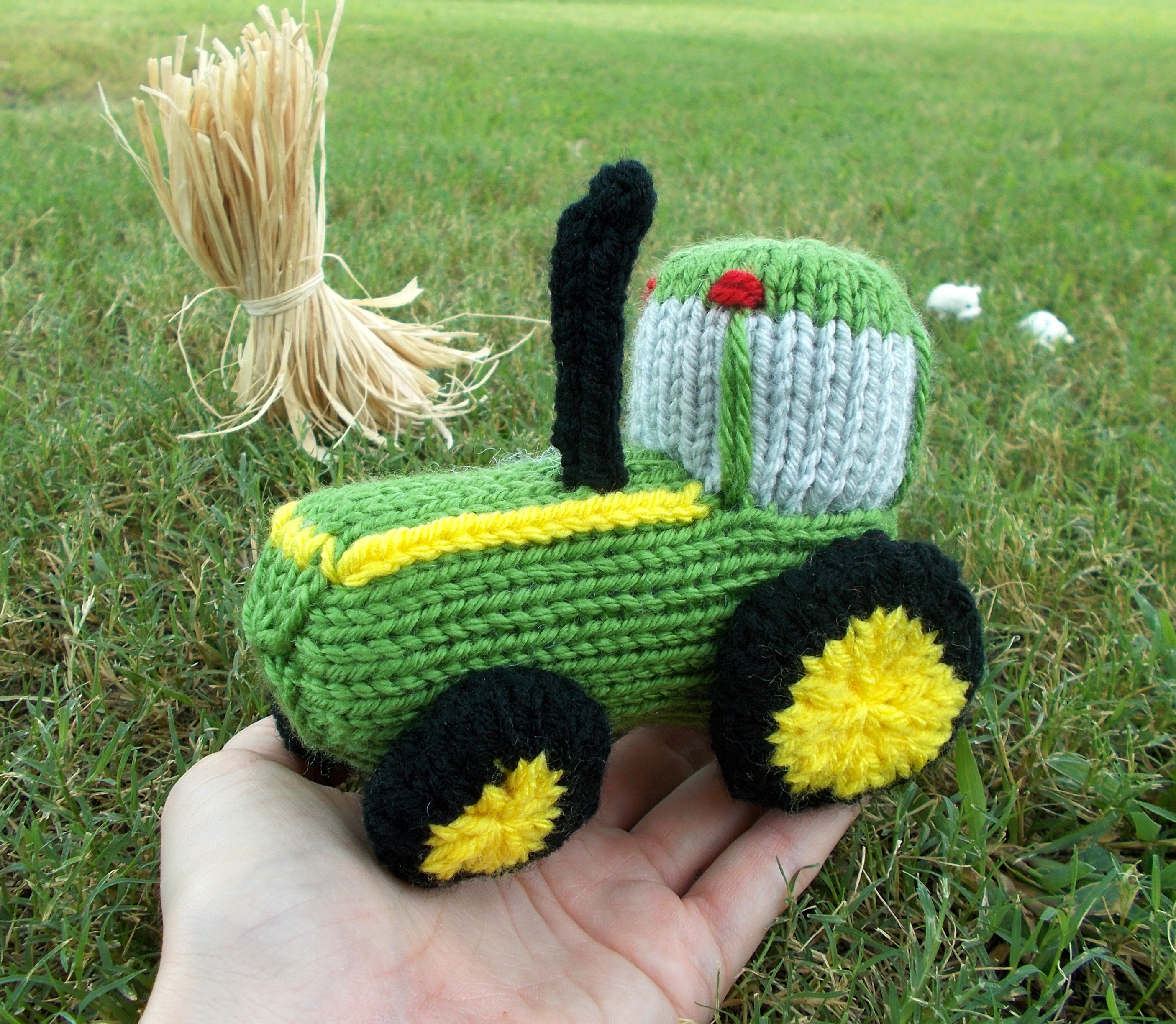 Awesome Free Pattern Fridays – Knitted Tractor toy Free Knitting Patterns toys Of Delightful 41 Pictures Free Knitting Patterns toys