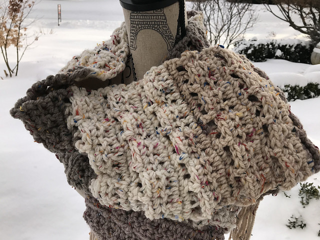 Awesome [free Pattern] Texture Caron Sprinkle Cakes Scarf Caron Sprinkle Cakes Patterns Of Delightful 48 Photos Caron Sprinkle Cakes Patterns