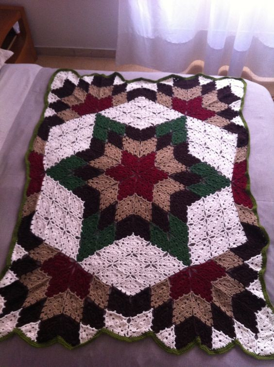 Awesome Free Prairie Star Crochet Pattern Dancox for Crochet Star Afghan Pattern Of New 45 Photos Crochet Star Afghan Pattern