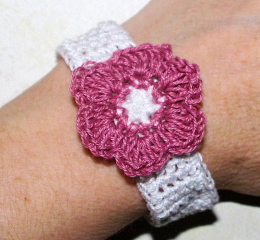 Free Printable Crochet Bracelet Patterns Dancox for