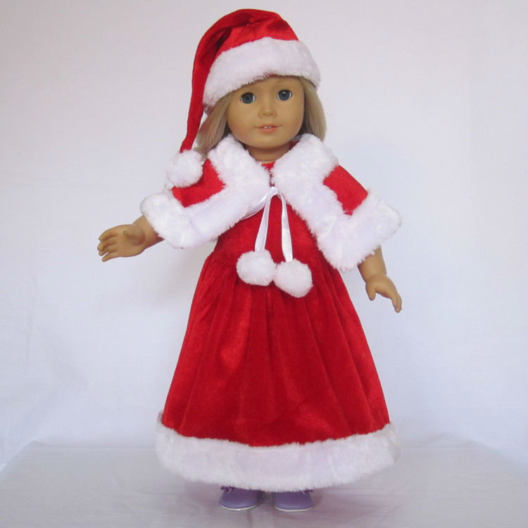 "Awesome Free Shipping Doll Clothes Fits for 18"" American Girl American Girl Doll Christmas Outfits Of Wonderful 40 Ideas American Girl Doll Christmas Outfits"