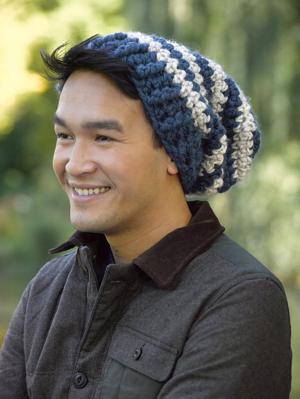 Awesome Free Slouchy Beanie Crochet Pattern for Men Free Mens Crochet Hat Patterns Of Awesome 40 Ideas Free Mens Crochet Hat Patterns