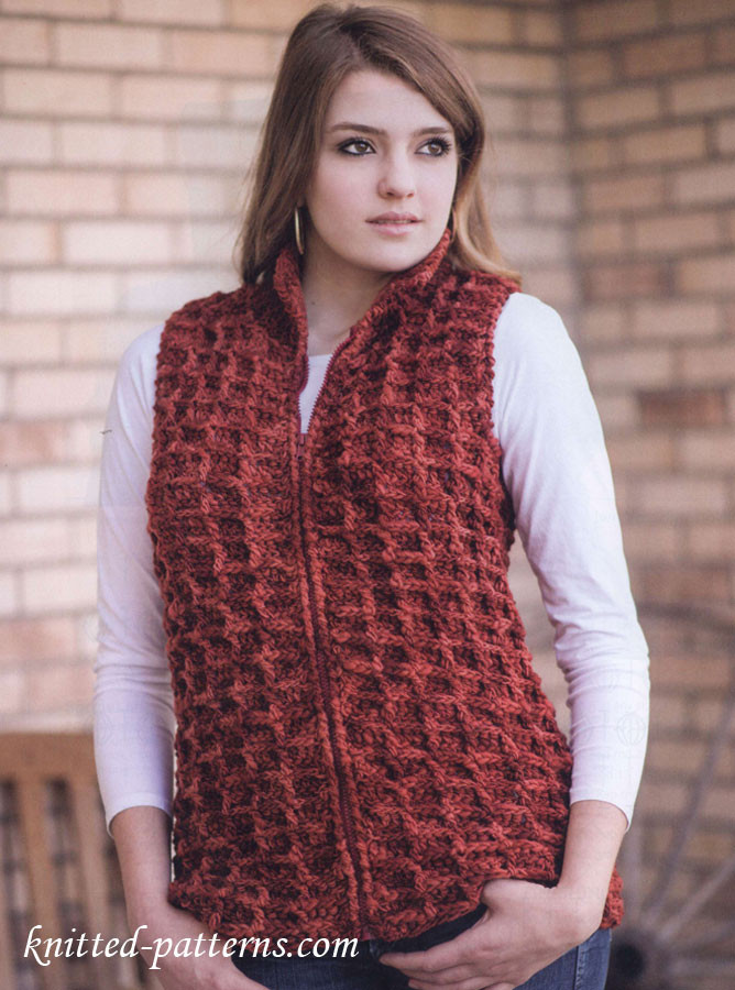 Awesome Free Women S Vest Crochet Pattern Women's Knitted Vest Patterns Of Amazing 48 Ideas Women's Knitted Vest Patterns