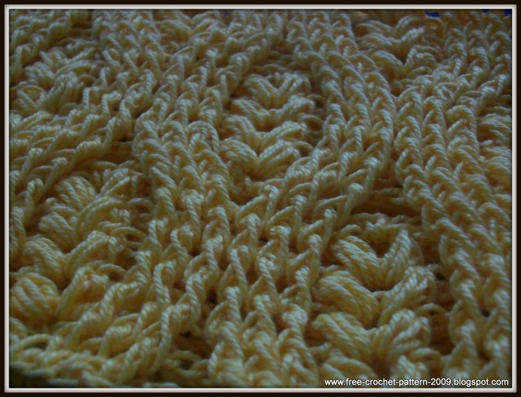 Awesome Girlie S Crochet How to Crochet Front Post Double Crochet Dc Crochet Stitch Of Gorgeous 46 Images Dc Crochet Stitch