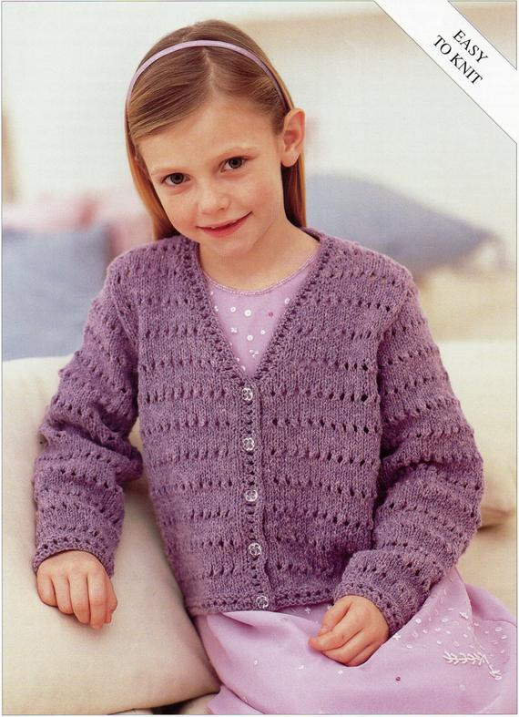 Awesome Girls Knitting Pattern Girls Cardigan Childs Cardigan Easy Knitting Patterns for Childrens Sweaters Of Charming 47 Models Knitting Patterns for Childrens Sweaters