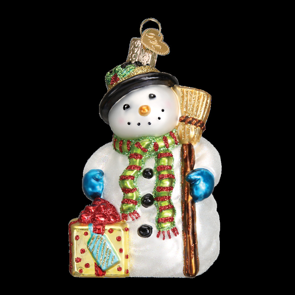 Awesome Gleeful Snowman ornament Old World Christmas Christmas Snowman Decorations Of Adorable 41 Models Christmas Snowman Decorations