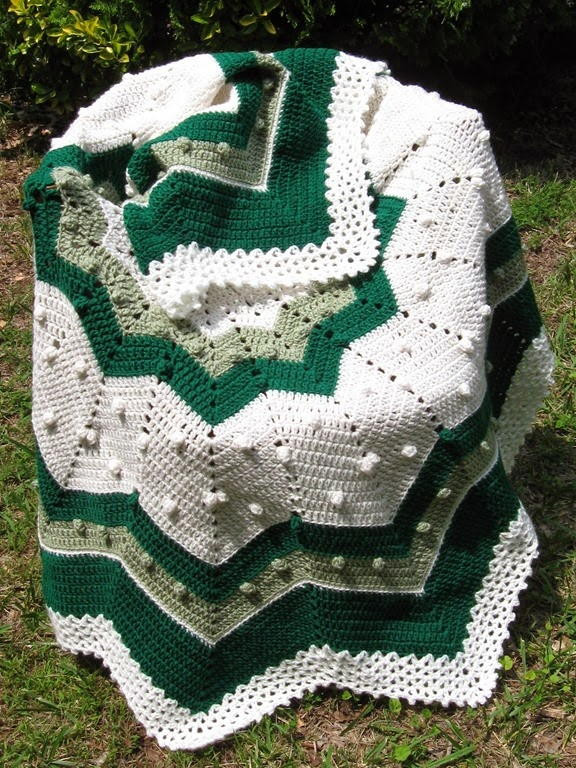 Awesome Go Green Round Ripple Afghan Crochet Round Baby Blanket Of Lovely New Hand Crochet Round Lacy Pink & White Baby Afghan Crochet Round Baby Blanket