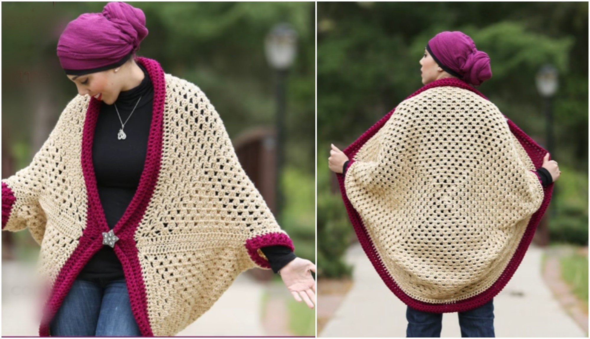 Awesome Granny Square Cocoon Sweater Cardigan – Crochet Ideas Crochet Cocoon Cardigan Of Charming 45 Pics Crochet Cocoon Cardigan