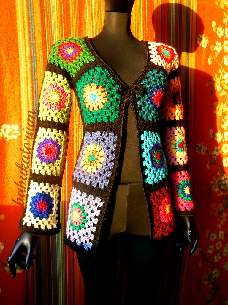 Awesome Granny Square Sweater the Ultimate Circles to Squares De Granny Square Cardigan Of Innovative 50 Pics Granny Square Cardigan