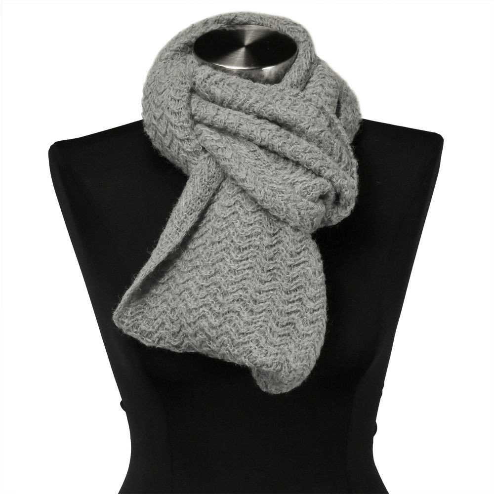Awesome Gray Wavy Cable Knit Stitch Warm Winter Infinity Scarf Cable Knit Scarf Of Delightful 48 Ideas Cable Knit Scarf