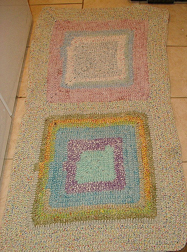 Awesome Hall Crochet Rug Fabric Cotton Strips Crochet Rug with Fabric Strips Of Adorable 46 Images Crochet Rug with Fabric Strips