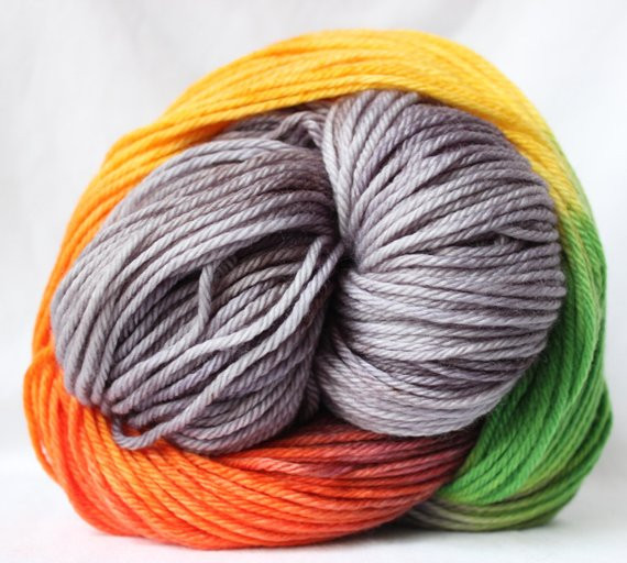 Awesome Hand Dyed Yarn Gray Green orange Yellow Red Yellow Variegated Yarn Of Charming 49 Ideas Yellow Variegated Yarn