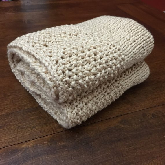 Awesome Hand Knit Baby Blanket organic Cotton Yarn Neutral Cotton Knit Baby Blanket Of Awesome 41 Models Cotton Knit Baby Blanket