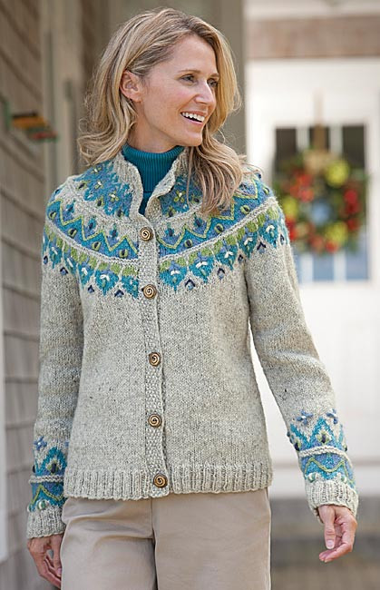 Awesome Hand Knit Sweater for Women Icelandic Fair isle Handknit Fair isle Sweater Pattern Of Amazing 44 Ideas Fair isle Sweater Pattern