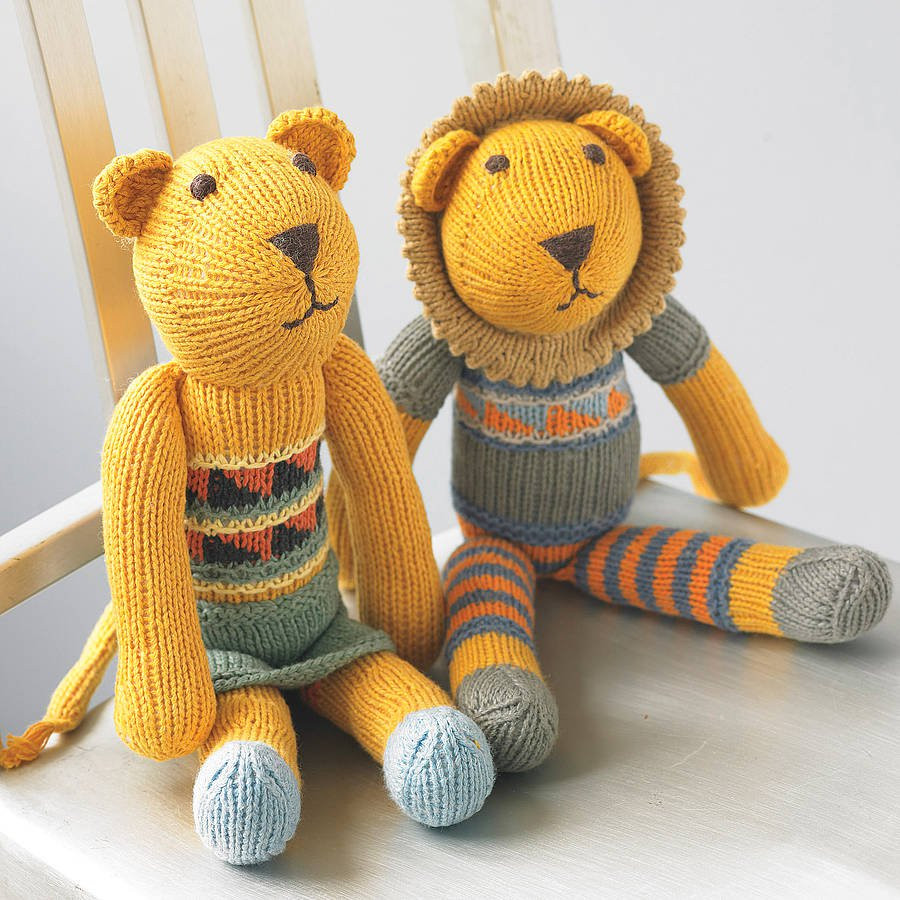 Awesome Hand Knitted Lion soft toy by Chunkichilli Free Knitting Patterns toys Of Delightful 41 Pictures Free Knitting Patterns toys