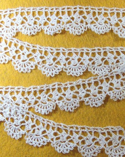 Awesome Handmade Crocheted Lace Trim In White 1 Yard Crochet Lace Trim Pattern Of Perfect 45 Pics Crochet Lace Trim Pattern