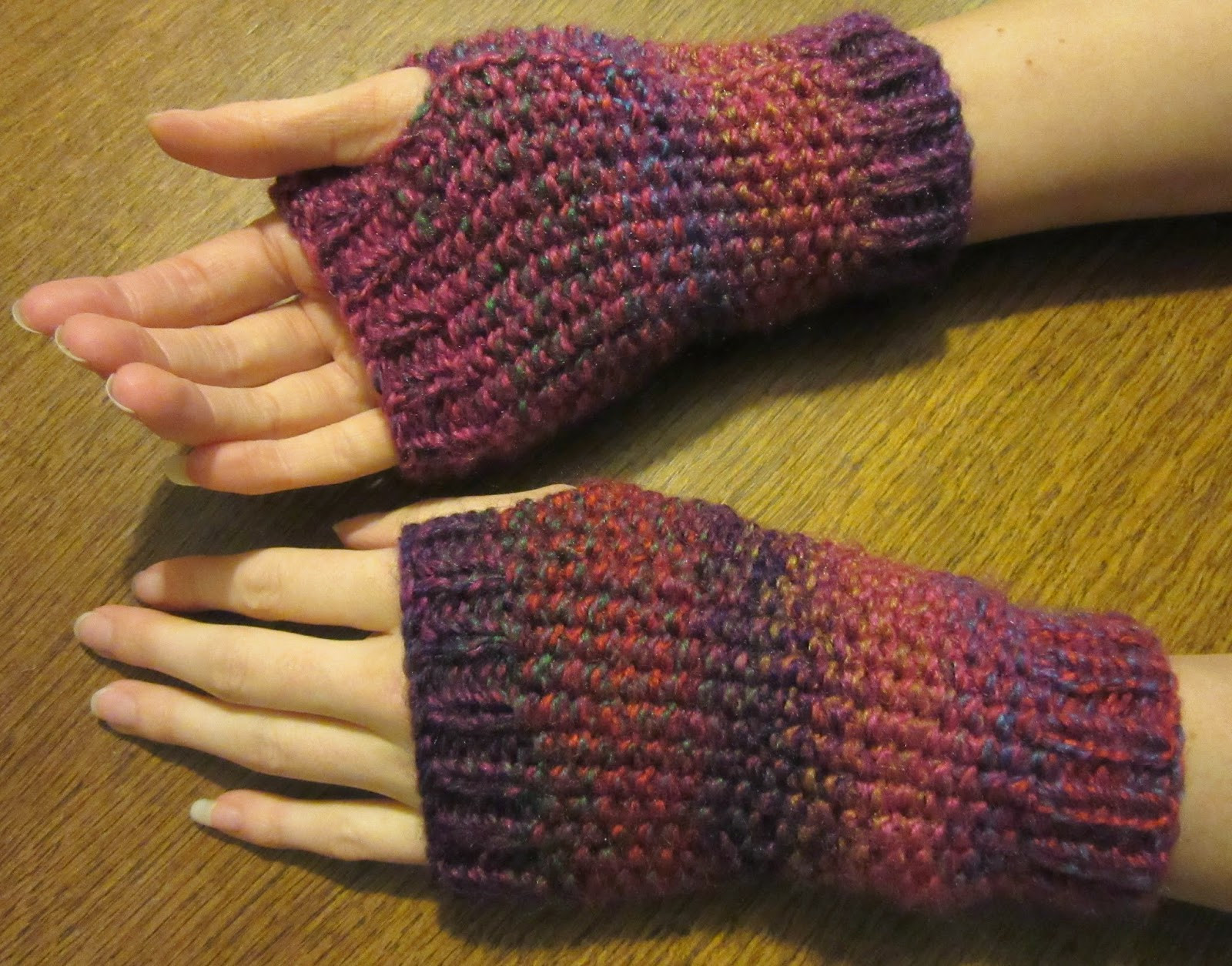 Awesome Handmadebymeg Free Simple Knitting Pattern for Wrist Warmers Knit Arm Warmers Of Brilliant 41 Images Knit Arm Warmers