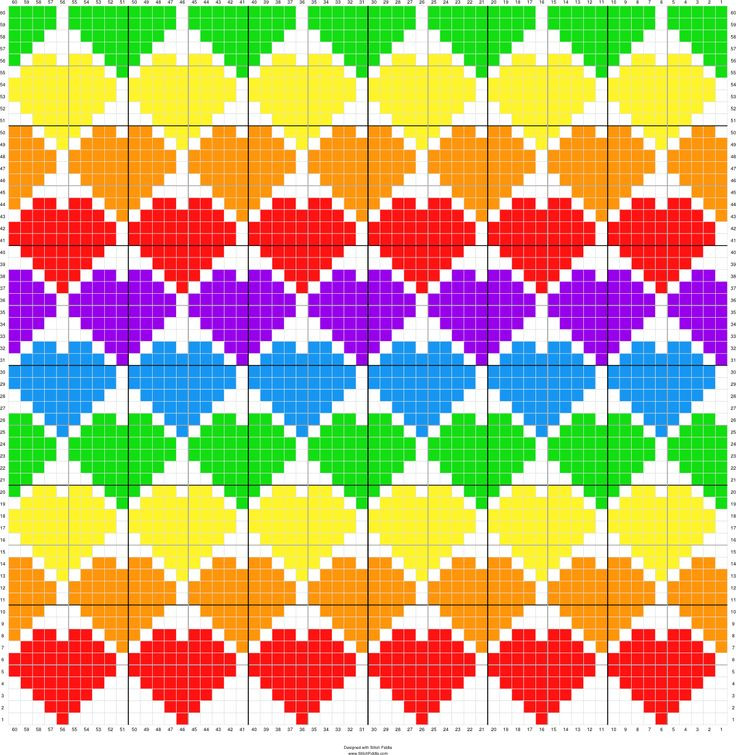 Awesome Heart C2c Graphgan Pattern Free Crochet Graph Maker Of Incredible 46 Models Free Crochet Graph Maker
