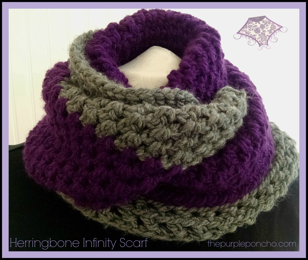 Awesome Herringbone Infinity Scarf A Free Crochet Pattern – the Free Infinity Scarf Crochet Pattern Of Attractive 46 Images Free Infinity Scarf Crochet Pattern