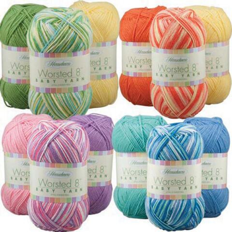 Awesome Herrschners Worsted 8 Baby Value Yarn Pack Baby Yarn Colors Of Wonderful 38 Images Baby Yarn Colors