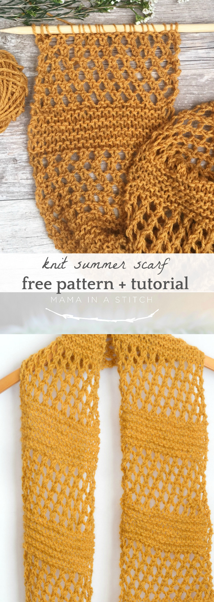 Awesome Honey Bs Summer Easy Scarf Knitting Pattern – Mama In A Summer Knitting Patterns Of Perfect 47 Pictures Summer Knitting Patterns