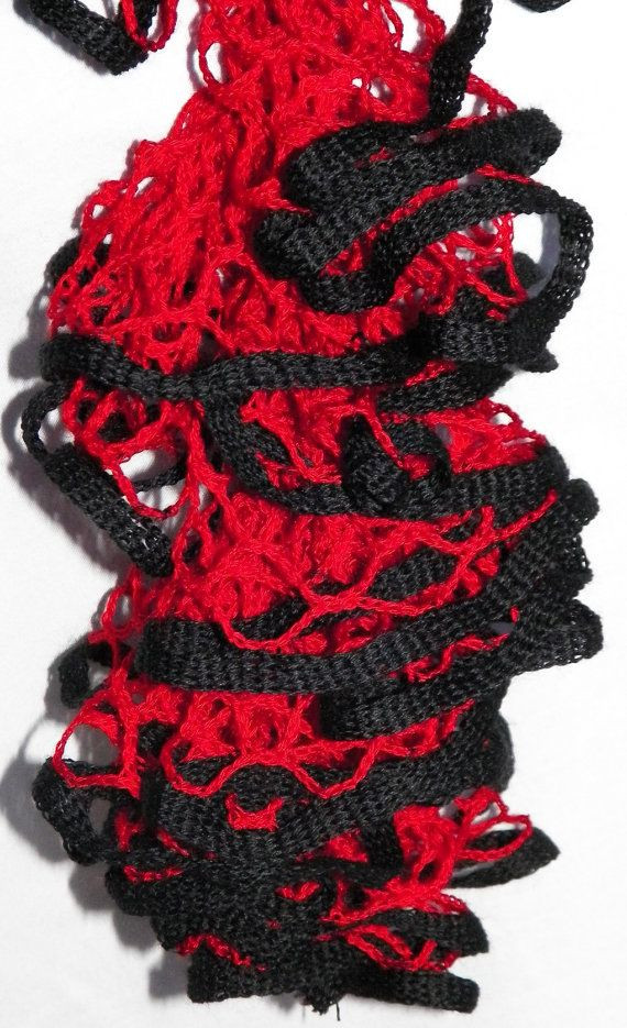 Awesome Hotshot Crochet Ruffle Scarf Starbella Scarf Red and Ruffle Scarf Yarn Of Beautiful 47 Images Ruffle Scarf Yarn