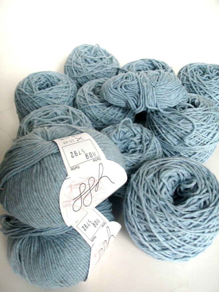 How to calculate yarn length from weight