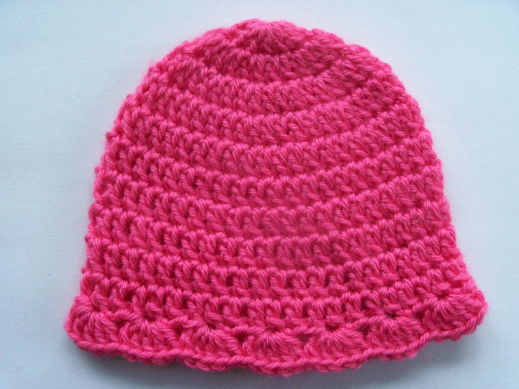 How To Crochet A Baby Hat For Beginners Step By Step