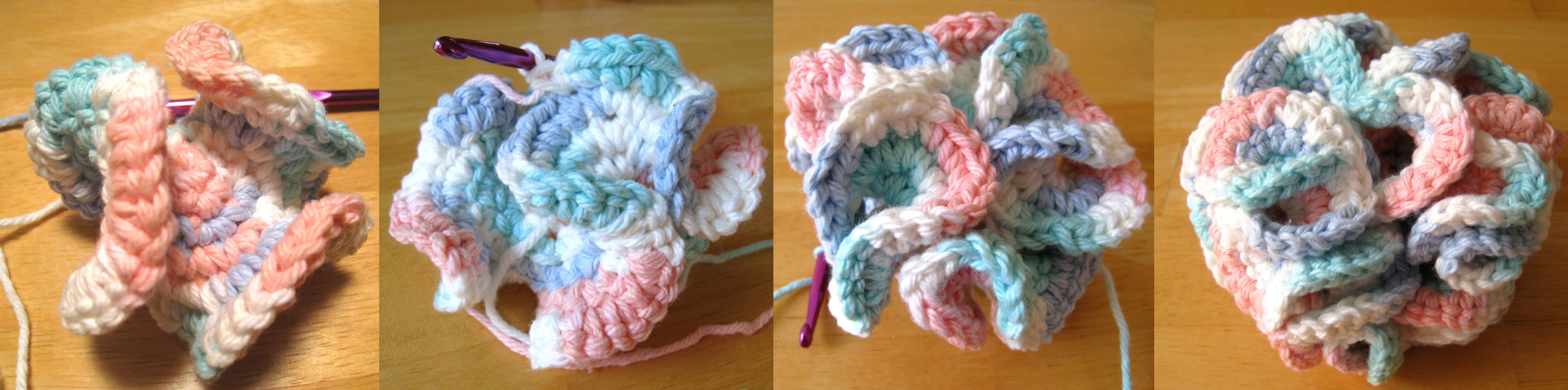 How to Crochet a Bath Puff 7 Steps with wikiHow