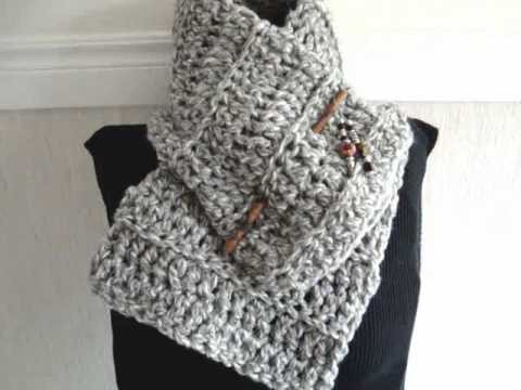 Awesome How to Crochet A Beginner Cowl Scarf Free Crochet Crochet Scarf Youtube Of Attractive 40 Pictures Crochet Scarf Youtube