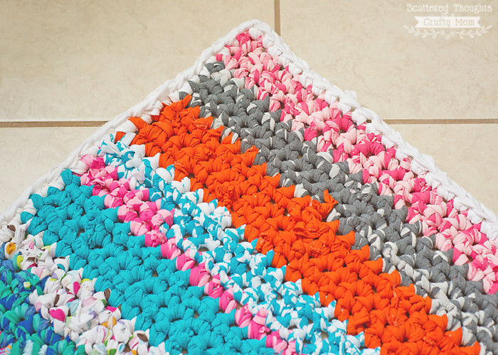 Awesome How to Crochet A Rag Rug with Fabric Scraps Scattered Crochet Material Of Superb 44 Ideas Crochet Material