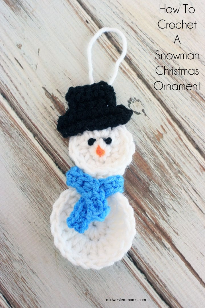 Awesome How to Crochet A Snowman Christmas ornament Snowman Christmas ornaments Of Adorable 45 Models Snowman Christmas ornaments