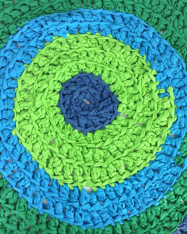 Awesome How to Crochet A T Shirt Rug T Shirt Rug Crochet Of Amazing 48 Pics T Shirt Rug Crochet