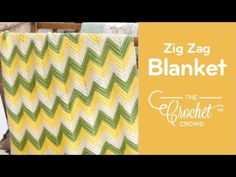 Awesome How to Crochet An Afghan Chevron or Ripples In Any Size Crochet Crowd Baby Blanket Of Brilliant 40 Photos Crochet Crowd Baby Blanket