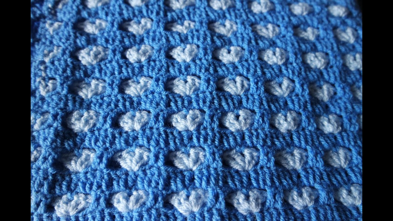 Awesome How to Crochet Hearts Blanket Free Tutorial Pattern by Youtube Crochet Afghan Patterns Of Adorable 41 Ideas Youtube Crochet Afghan Patterns