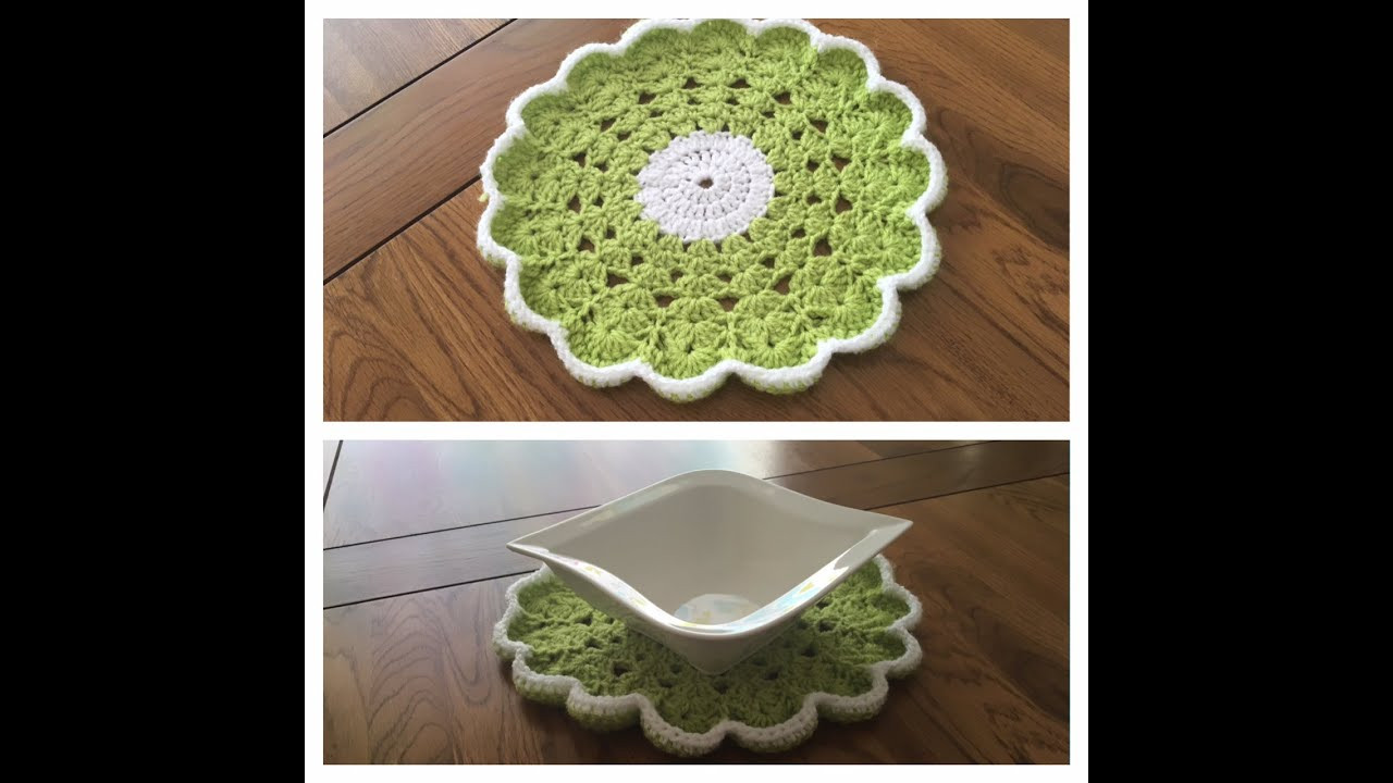 Awesome How to Crochet Round Table Mat Crochet Table Mat Of Gorgeous 47 Ideas Crochet Table Mat