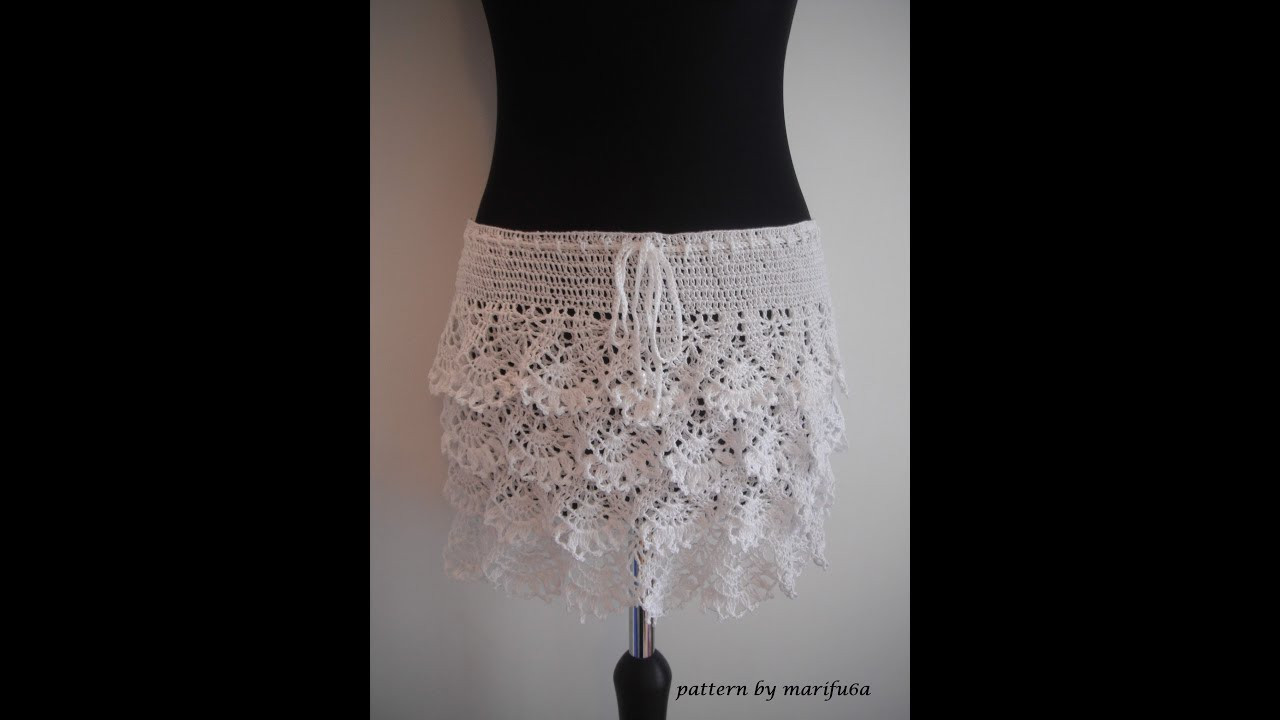 Awesome How to Crochet Ruffle Skirt Free Pattern Tutorial Crochet Skirt Pattern Free Of Unique 42 Ideas Crochet Skirt Pattern Free