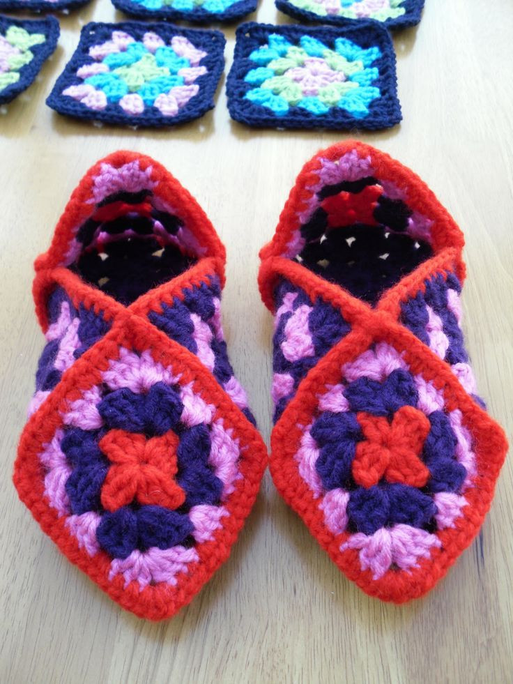 how to crochet slippers for beginners step by step
