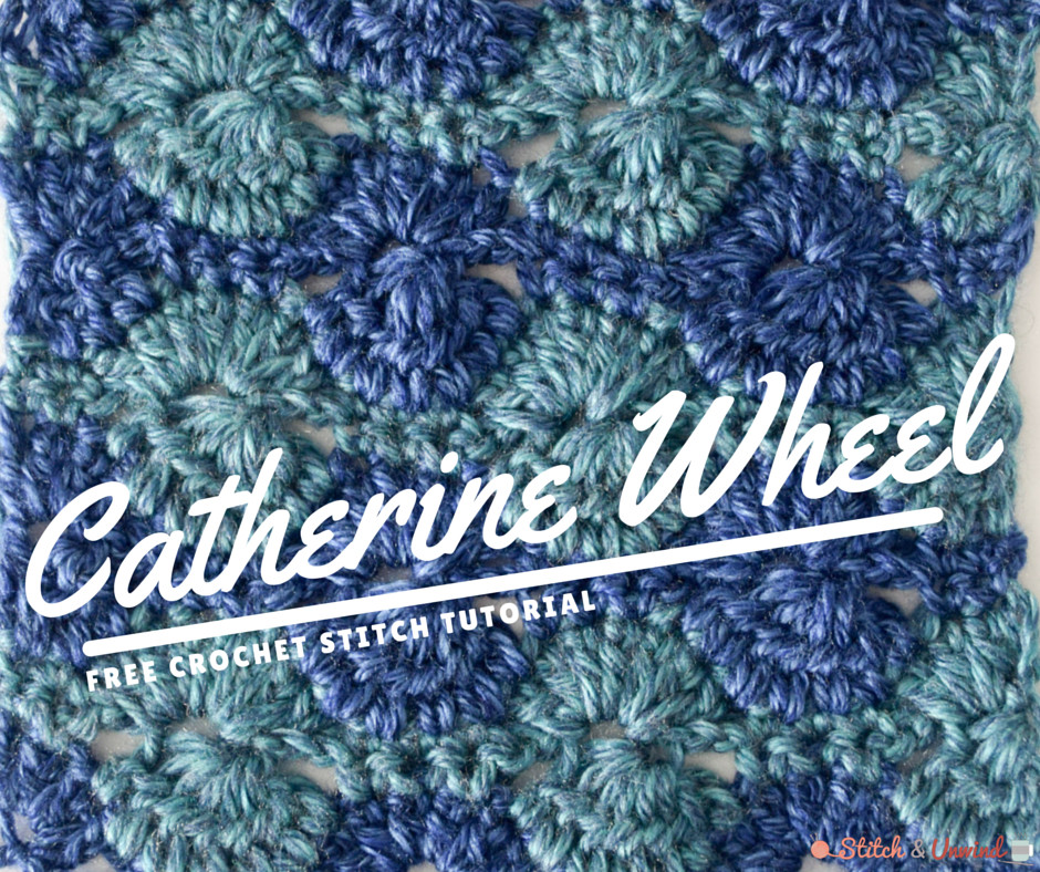 Awesome How to Crochet the Catherine Wheel Tutorial Catherine Wheel Stitch Crochet Of Contemporary 44 Photos Catherine Wheel Stitch Crochet