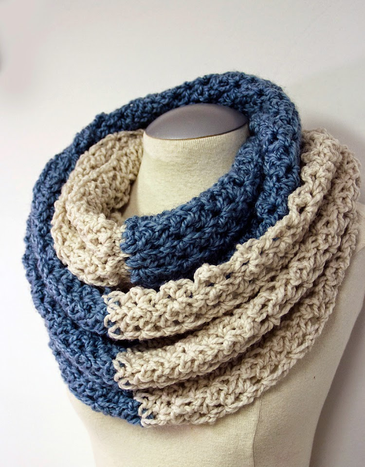 Awesome How to Make 41 Easy and Fun Infinity Scarves & Wear them Crochet Cowl Neck Scarf Of Superb 49 Models Crochet Cowl Neck Scarf