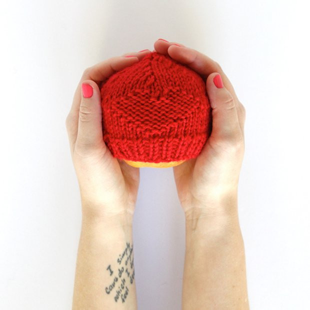 How To Red Knitted Hats for Preemies