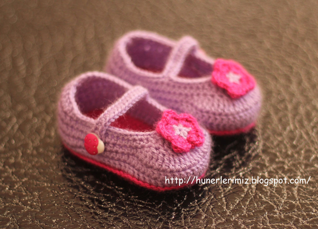 Awesome Hünerlerimiz Crocheted Baby Booties Tutorial Tığ İşi Crochet Baby Slippers Of Marvelous 50 Images Crochet Baby Slippers