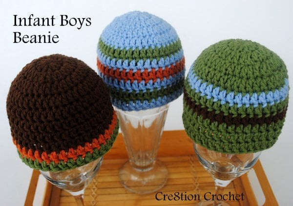 Awesome Infant Boys Beanie Cre8tion Crochet Crochet Boy Hat Pattern Of Superb 40 Images Crochet Boy Hat Pattern