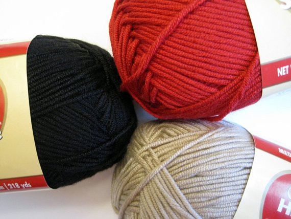 Items similar to CLEARANCE Red Heart Smoothie Yarn Three