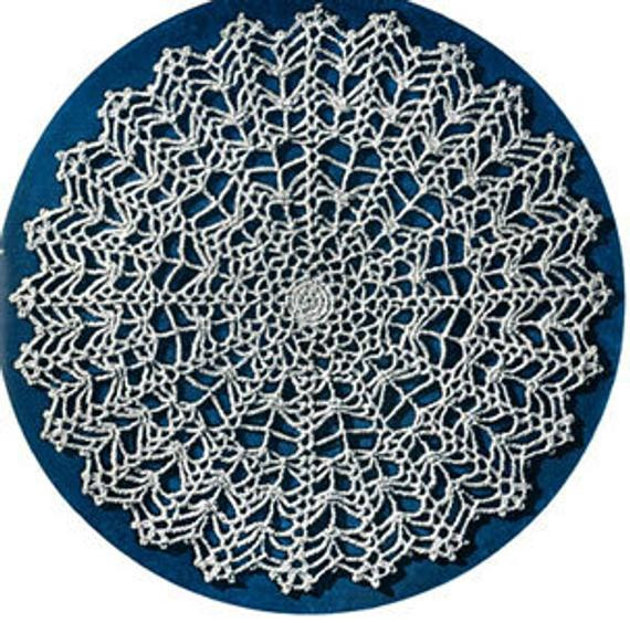 Awesome Items Similar to Crochet Pattern Spider Web Doily 1930 Crochet Spider Web Pattern Of Lovely 50 Pics Crochet Spider Web Pattern
