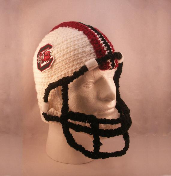 Awesome Items Similar to Football Helmet with Chin Strap and Crochet Football Helmets Of Best Of Breezybot Free Pattern Baby Crochet Football Helmet Crochet Football Helmets