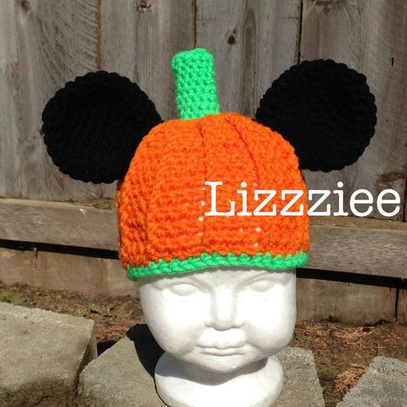 Awesome Items Similar to Halloween Mickey Pumpkin Crochet Hat Pumpkin Hat for Adults Of Incredible 45 Photos Pumpkin Hat for Adults