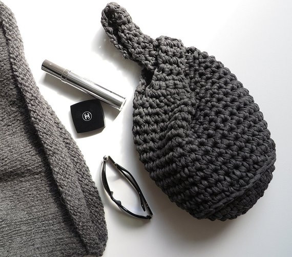 Awesome Items Similar to Japanese Knot Bag Dark Gray T Shirt Japanese Knot Bag Of New 49 Ideas Japanese Knot Bag