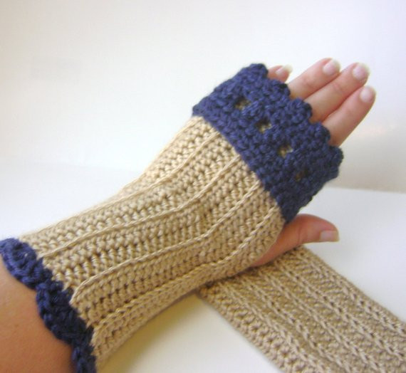 Awesome Items Similar to Pdf Crochet Pattern Fingerless Gloves Easy Fingerless Gloves Crochet Pattern Of Innovative 49 Photos Easy Fingerless Gloves Crochet Pattern